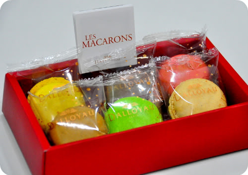 Macarons From Dalloyau