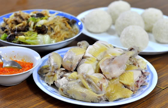 Family Tradition and Chicken Rice Balls