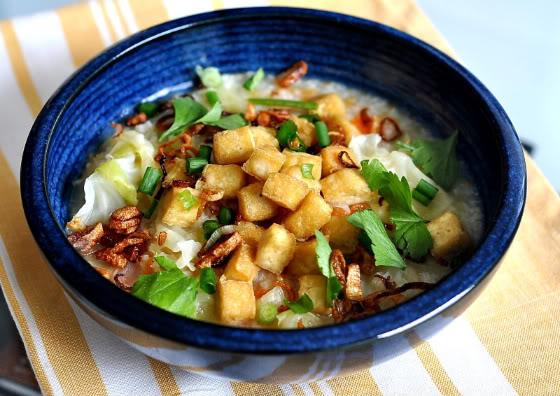 Cabbage-Carrot Porridge On A Rainy Day