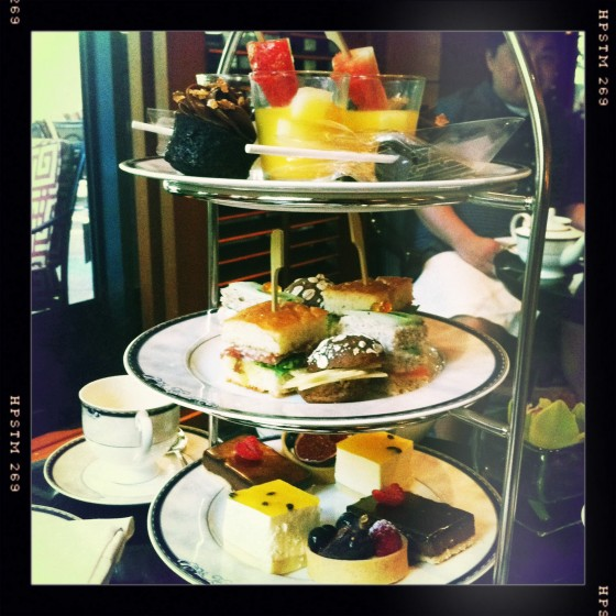 Afternoon Tea At Four Seasons